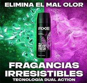 Pack 6 desodorantes Axe Excite Rock 2 por 10,44€ en Amazon