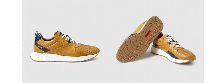 Zapatillas de piel Pikolinos a 47,95€ en El Corte Inglés amarillo