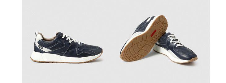 Zapatillas de piel Pikolinos a 47,95€ en El Corte Inglés azul