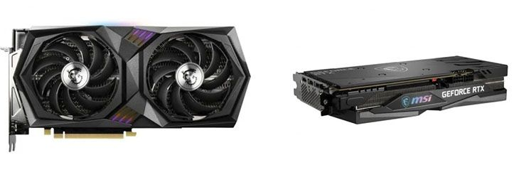 2 Tarjeta gráfica MSI GeForce RTX 3060 Ti 8GB a 729,90€ en PC Componentes