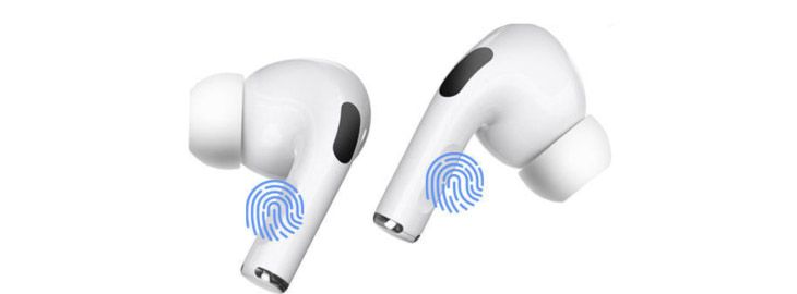 Auriculares tipo AirPods Pro d a 6,05€ en Wisecart