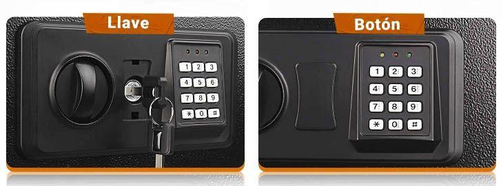 Caja fuerte 14L con cerradura electrónica por 38,99€ en Amazon ima
