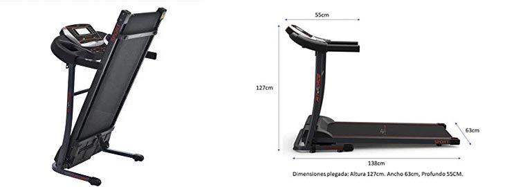 Cinta de correr plegable a 173,99€ en Aliexpress imagen