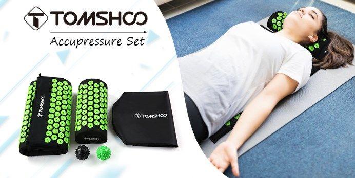 comprar Kit de masaje esterilla + cojín de acupresión barato
