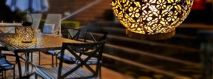 Lámpara solar colgante para exteriores por 13,75€ en Aliexpress 2