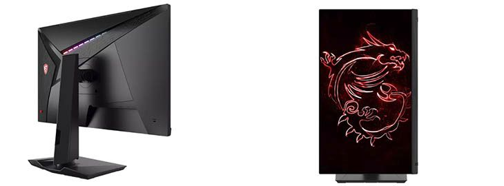Monitor gaming MSI Optix 27w a 259€ en Mediamarkt