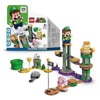 Pack Super Mario Aventuras Luigi de LEGO