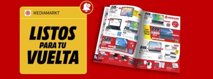 Promoción Listos para tu Vuelta en MediaMarkt imagen