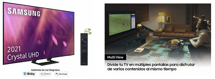 Samsung Smart TV 4K de 50 por 679€ en Amazon 2