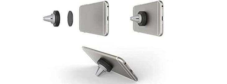 Soporte móvil magnético para coche por 5,99€ en Amazon im