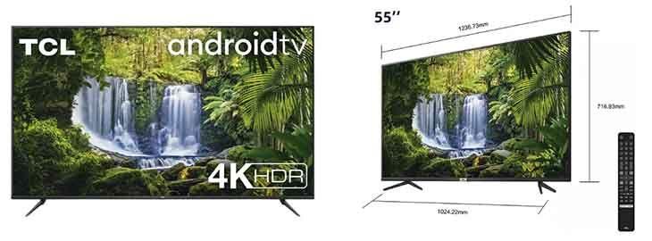 TV TCL 55 4k