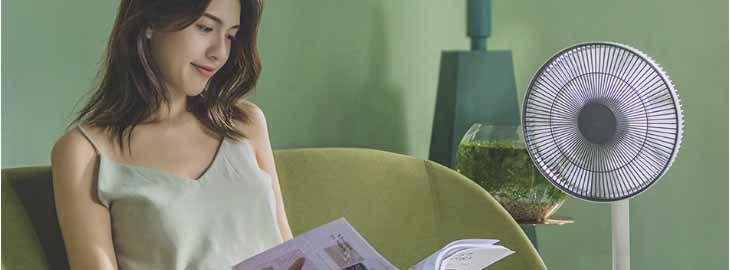 Ventilador inteligente de pie a 27,59€ en Aliexpress2