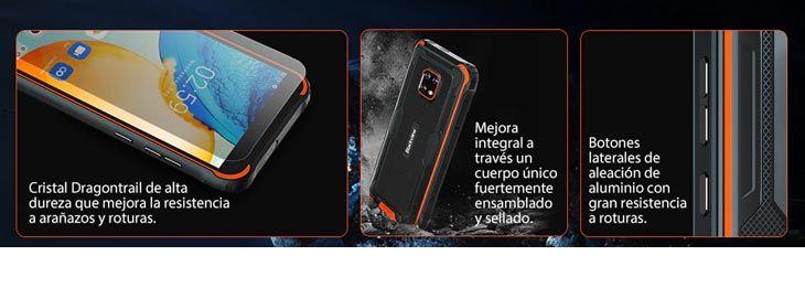 Blackview BV4900S smartphone rugerizado a 103,09€ en Aliexpress 1