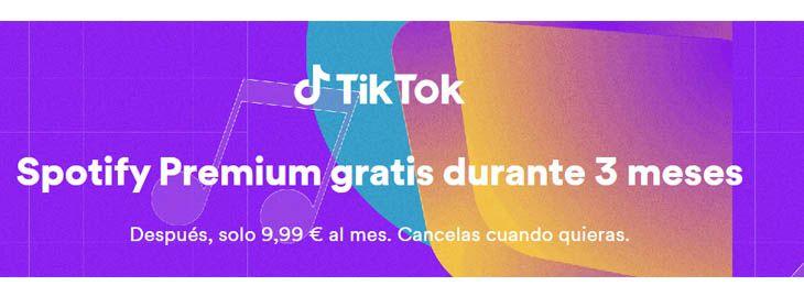 Spotify Premium GRATIS durante 3 meses