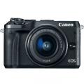 Canon EOS M6 con objetivo EF-M 15-45mm