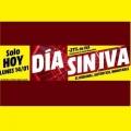 Día sin IVA Media Markt hasta hoy a las 24:00h. ¡Amplia variedad de productos!
