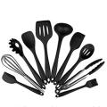 Juego de 10 utensilios de cocina de silicona Enko