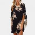 ¡Vestido HiloRill con estampado floral por un 71% MENOS!