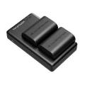 Cargador Canon + 2 Baterías para LP-E6 y LP-E6N en Amazon