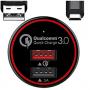 Cargador de coche BC Master con carga rápida y 2 puertos USB