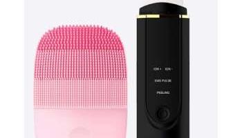 Cepillo de limpieza facial y limpiador ultrasónico por 30,84€ en Aliexpress