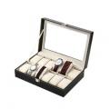 Estuche relojero de 12 compartimentos por 9,09€ ¡sólo en Amazon!