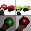Guantes de ciclismo con luz LED para indicar tus giros