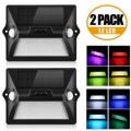 2 lámparas LED solares AGM Amazon