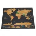 Mapa para rascar los países que has visitado con cupón para Tomtop
