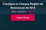 40€ gratis en Amazon