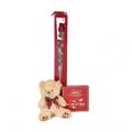 Pack San Valentín: flores, peluche y bombones Nestlé (Envío en 24 horas)