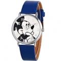Reloj de Mickey con correa de piel en Aliexpres