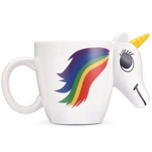 Taza con forma de unicornio que cambia de color   Mepicaelchollo.com