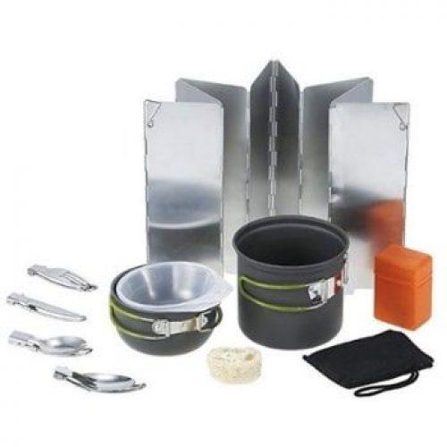 253565ef18b -30% Kit 11 utensilios de cocina para camping Tomshoo. ¡El más BARATO con  este cupón