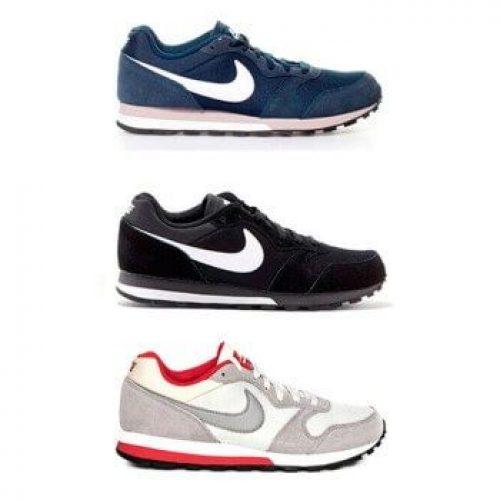 zapatillas nike md runner gris y negro br9c8d505